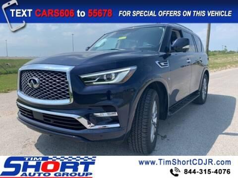 2018 Infiniti QX80 for sale at Tim Short Chrysler in Morehead KY