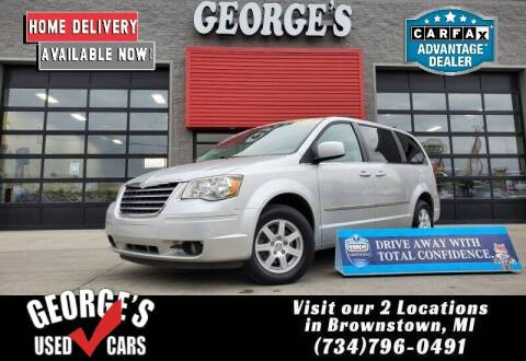 2010 Chrysler Town and Country for sale at George's Used Cars - Pennsylvania & Allen in Brownstown MI