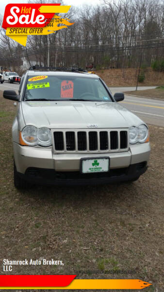 2009 Jeep Grand Cherokee for sale at Shamrock Auto Brokers, LLC in Belmont NH