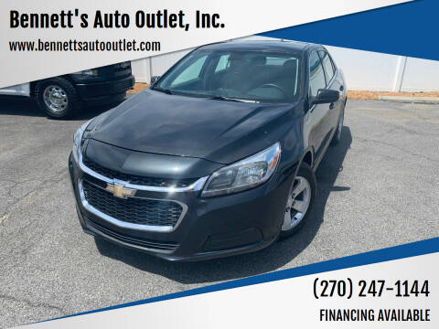 2015 Chevrolet Malibu for sale at Bennett's Auto Outlet, Inc. in Mayfield KY