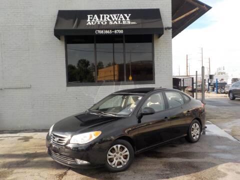 2010 Hyundai Elantra for sale at FAIRWAY AUTO SALES, INC. in Melrose Park IL