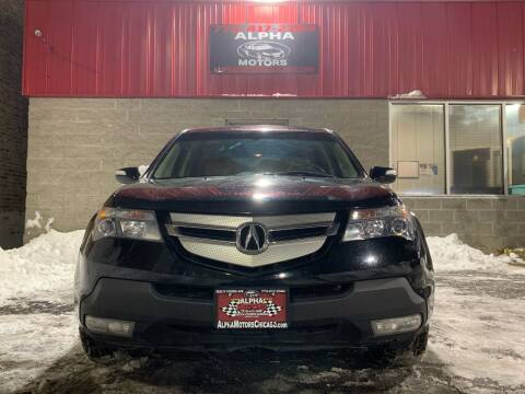 2008 Acura MDX for sale at Alpha Motors in Chicago IL