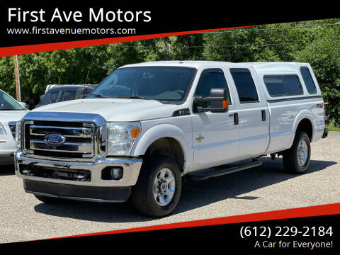 2015 Ford F-250 Super Duty for sale at First Ave Motors in Shakopee MN