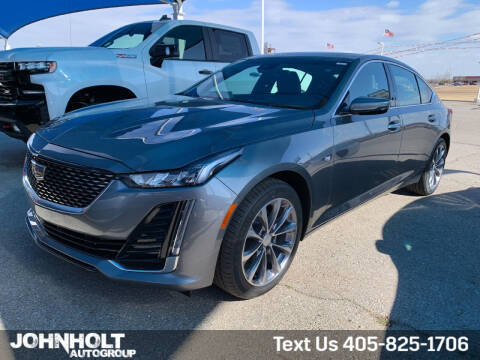 2021 Cadillac CT5 for sale at JOHN HOLT AUTO GROUP, INC. in Chickasha OK