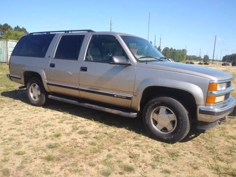 1999 Chevrolet Suburban for sale at Elk Creek Motors LLC in Park Rapids MN