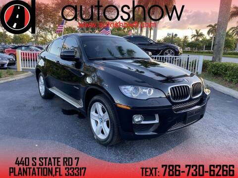2014 BMW X6 for sale at AUTOSHOW SALES & SERVICE in Plantation FL