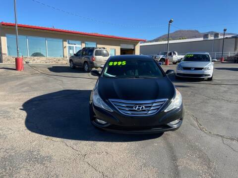 2013 Hyundai Sonata for sale at University Auto Sales in Cedar City UT