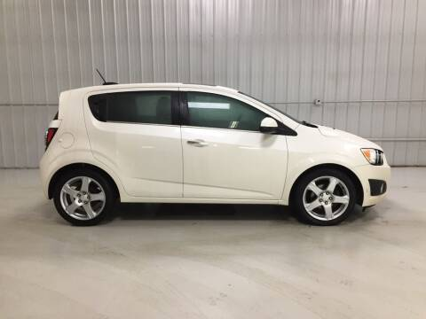 2015 Chevrolet Sonic for sale at Elhart Automotive Campus in Holland MI