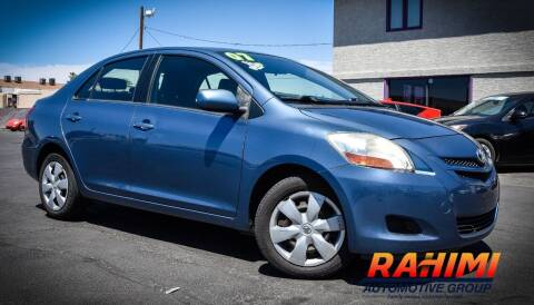 2007 Toyota Yaris for sale at Rahimi Automotive Group in Yuma AZ