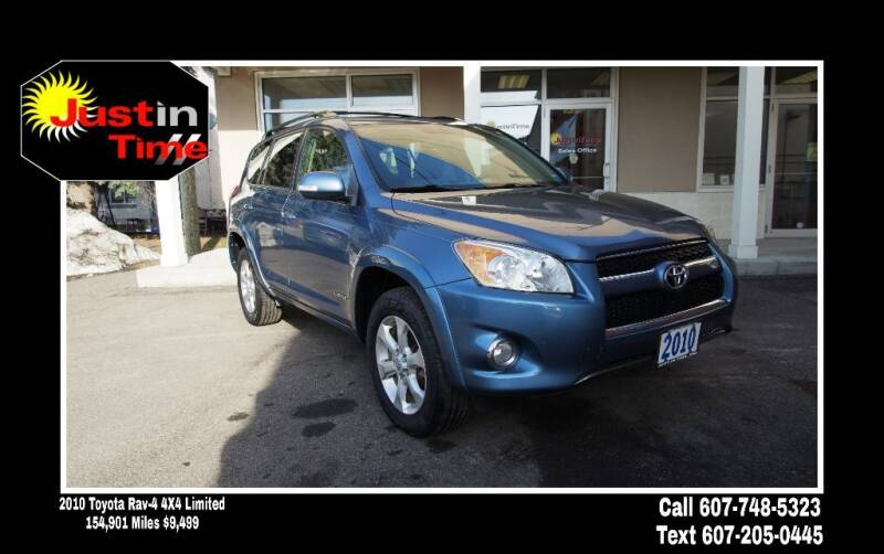 2010 Toyota RAV4 for sale at Just In Time Auto in Endicott NY