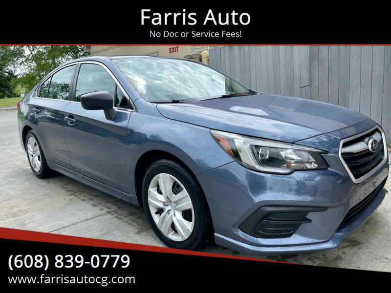 2018 Subaru Legacy for sale at Farris Auto in Cottage Grove WI