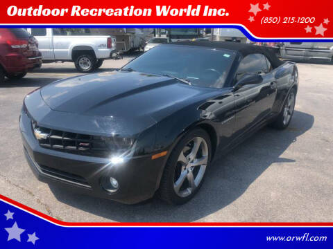 2013 Chevrolet Camaro for sale at Outdoor Recreation World Inc. in Panama City FL