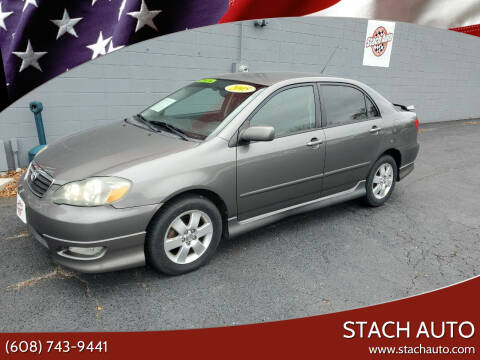 2005 Toyota Corolla for sale at Stach Auto in Janesville WI