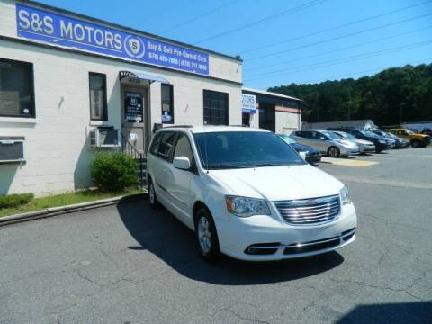 2012 Chrysler Town and Country for sale at S & S Motors in Marietta GA