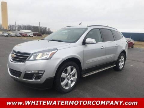 2017 Chevrolet Traverse for sale at WHITEWATER MOTOR CO in Milan IN