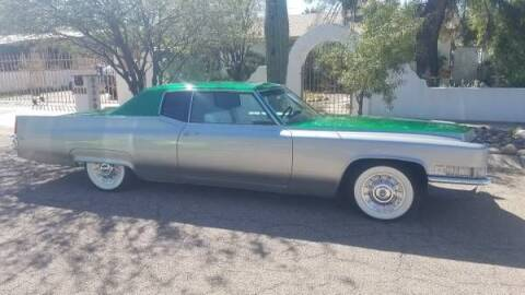 1969 Cadillac DeVille for sale at Classic Car Deals in Cadillac MI