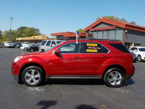 2013 Chevrolet Equinox for sale at Super Service Used Cars in Milwaukee WI