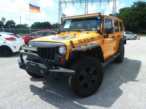 2012 Jeep Wrangler Unlimited for sale at Das Autohaus Quality Used Cars in Clearwater FL