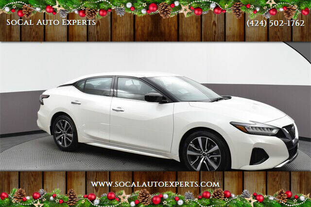 2019 Nissan Maxima for sale at SoCal Auto Experts in Culver City CA