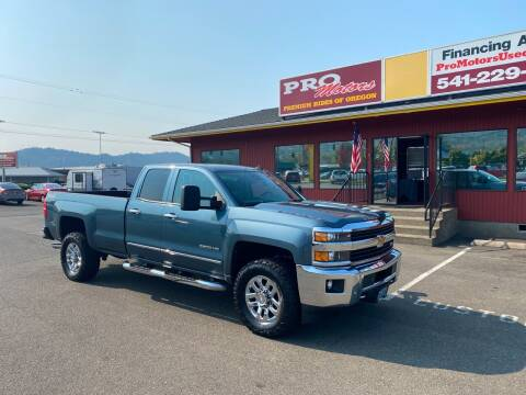 2015 Chevrolet Silverado 3500HD for sale at Pro Motors in Roseburg OR
