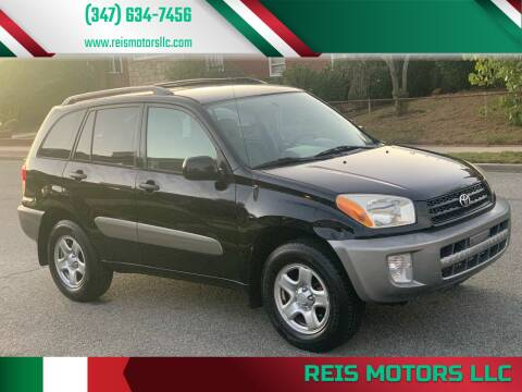 2002 Toyota RAV4 for sale at Reis Motors LLC in Lawrence NY