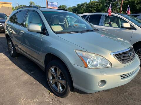 2007 Lexus RX 400h for sale at Primary Motors Inc in Commack NY