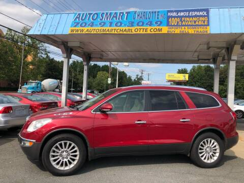2012 Buick Enclave for sale at Auto Smart Charlotte in Charlotte NC
