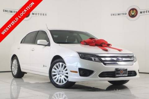 2011 Ford Fusion Hybrid for sale at INDY'S UNLIMITED MOTORS - UNLIMITED MOTORS in Westfield IN
