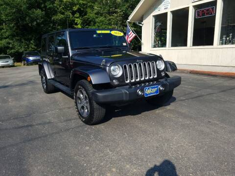 2018 Jeep Wrangler JK Unlimited for sale at Fairway Auto Sales in Rochester NH