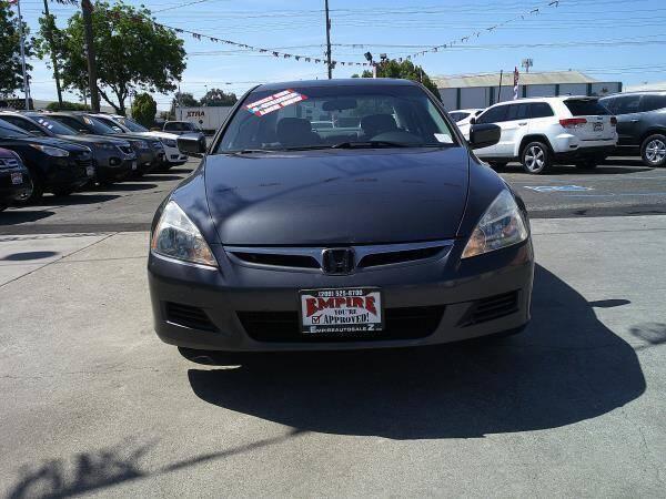 2007 Honda Accord for sale at Empire Auto Sales in Modesto CA