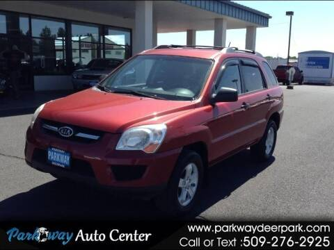 2009 Kia Sportage for sale at PARKWAY AUTO CENTER AND RV in Deer Park WA