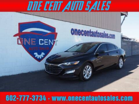 2019 Chevrolet Malibu for sale at One Cent Auto Sales in Glendale AZ