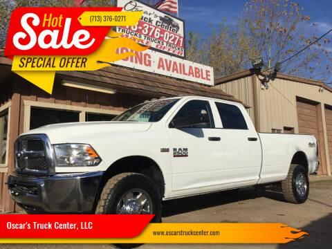 2017 RAM Ram Pickup 2500 for sale at Oscar's Truck Center, LLC in Houston TX
