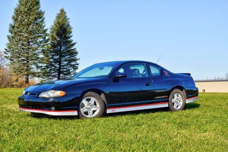 2002 Chevrolet Monte Carlo for sale at Hooked On Classics in Watertown MN