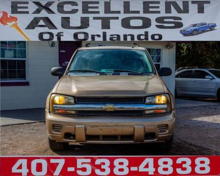 2006 Chevrolet TrailBlazer for sale at Excellent Autos of Orlando in Orlando FL