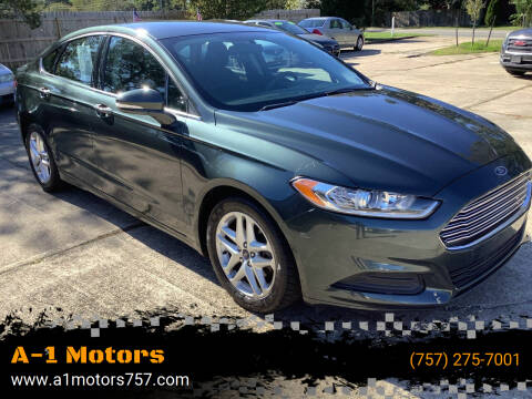 2015 Ford Fusion for sale at A-1 Motors in Virginia Beach VA