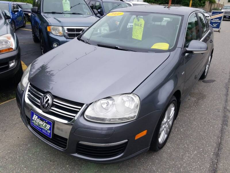 2007 Volkswagen Jetta for sale at Howe's Auto Sales in Lowell MA