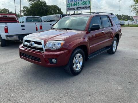 2008 Toyota 4Runner for sale at RODRIGUEZ MOTORS CO. in Houston TX