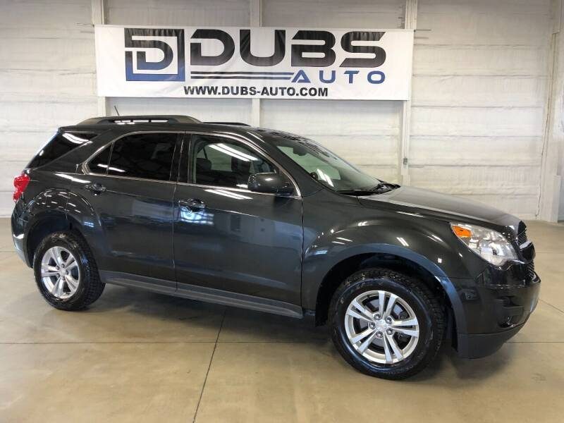 2013 Chevrolet Equinox for sale at DUBS AUTO LLC in Clearfield UT
