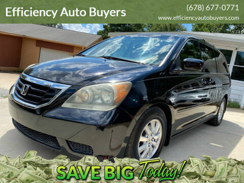 2008 Honda Odyssey for sale at Efficiency Auto Buyers in Milton GA