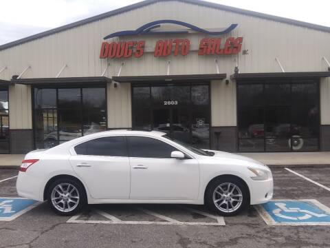 2011 Nissan Maxima for sale at DOUG'S AUTO SALES INC in Pleasant View TN