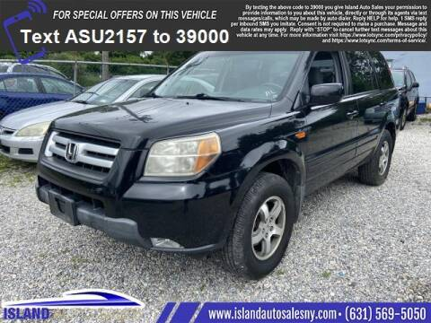 2008 Honda Pilot for sale at Island Auto Sales in East Patchogue NY