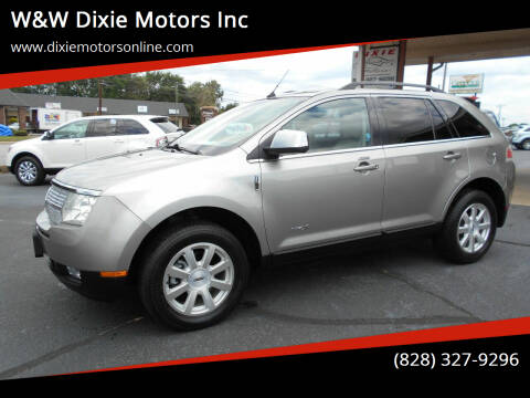 2008 Lincoln MKX for sale at W&W Dixie Motors Inc in Hickory NC