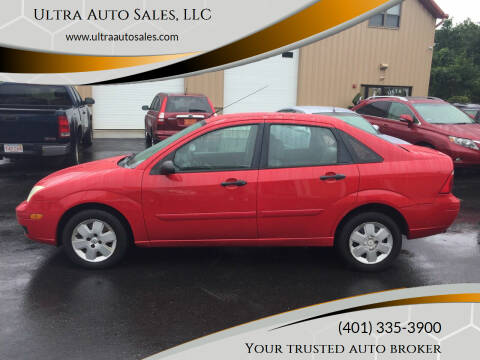 2007 Ford Focus for sale at Ultra Auto Sales, LLC in Cumberland RI