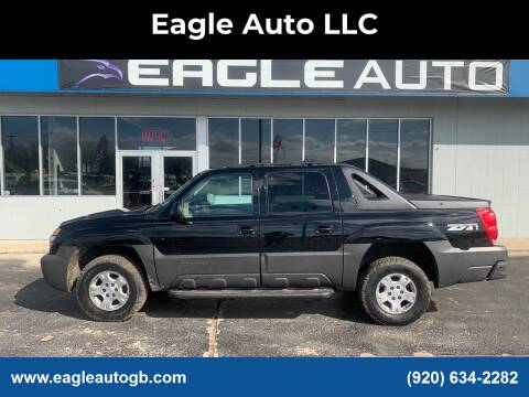 2003 Chevrolet Avalanche for sale at Eagle Auto LLC in Green Bay WI