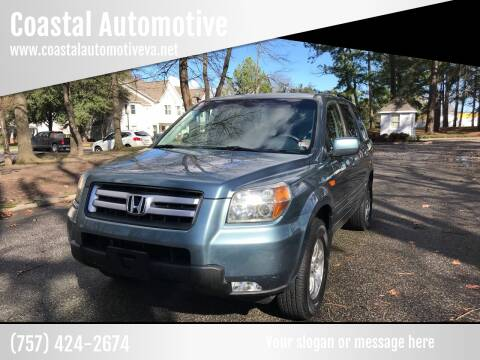2006 Honda Pilot for sale at Coastal Automotive in Virginia Beach VA