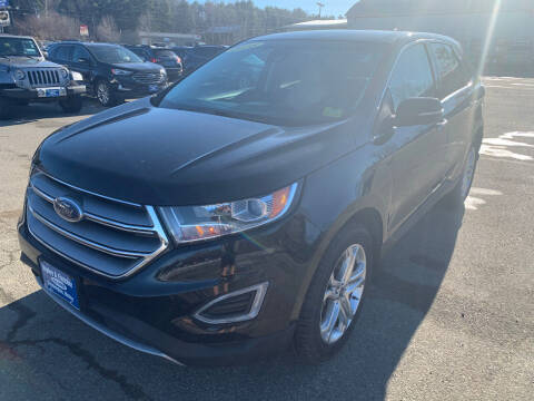 2018 Ford Edge for sale at Ripley & Fletcher Pre-Owned Sales & Service in Farmington ME