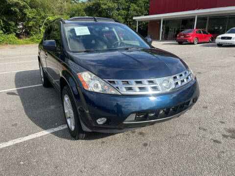 2004 Nissan Murano for sale at Certified Motors LLC in Mableton GA
