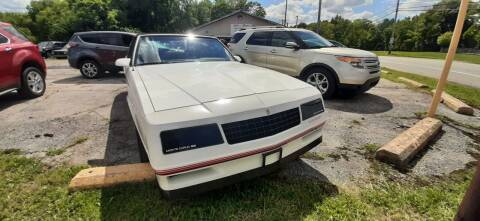 1987 Chevrolet Monte Carlo for sale at John - Glenn Auto Sales INC in Plain City OH