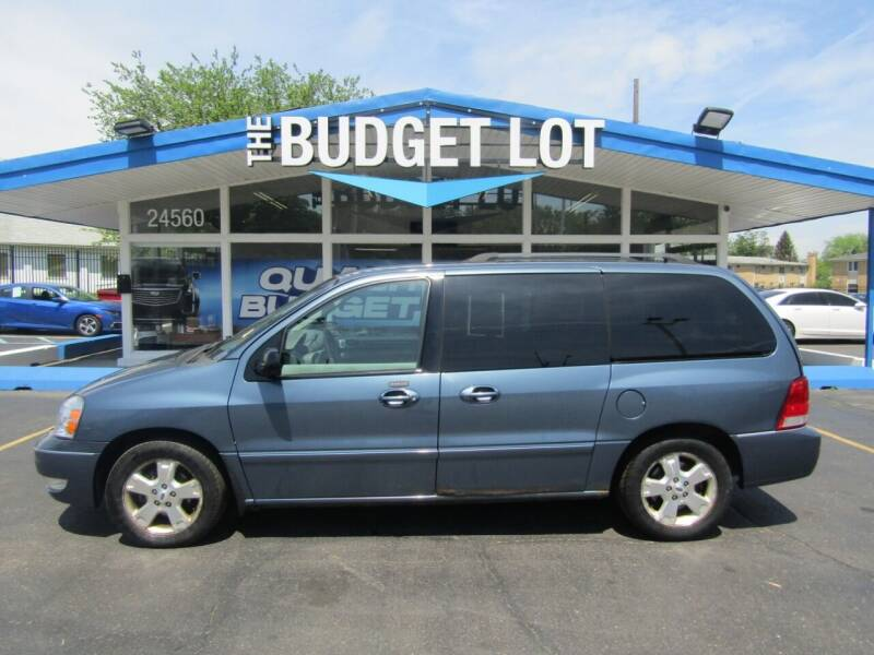 2006 Ford Freestar for sale at THE BUDGET LOT in Detroit MI